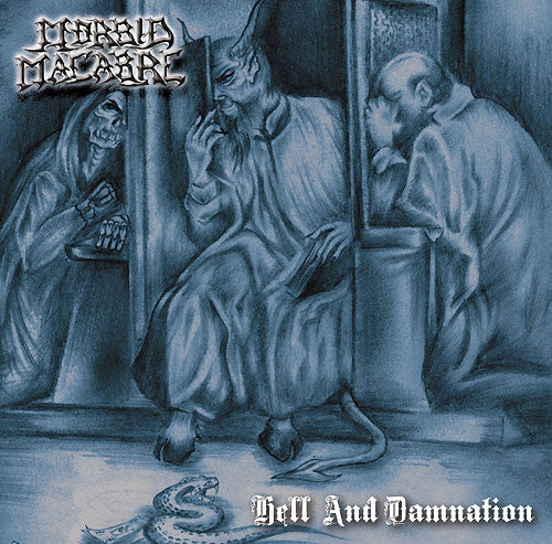 Morbid Macabre- Hell And Damnation CD on Obliteration Rec.