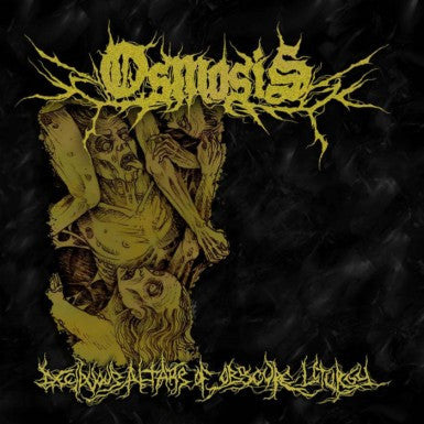 OSMOSIS- Deciduous Altars Of Obscure Liturgy CD on Eclectic Rec.