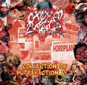 Oxidised Razor- Collection Of Putrefaction Vol. 2 CD on Bizarre Leprous Prod.