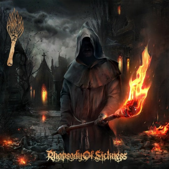 Pandemia- Rhapsody Of Sickness CD on Gate Of The Silver Key