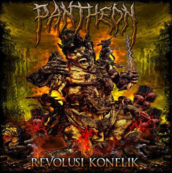 Pantheon- Revolusi Konflik CD on Bloodwave Rec.