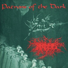 Paralysis- Patrons Of The Dark Discography CD on Morbid Generation Rec.