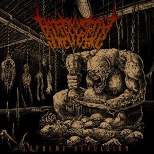 Paroxysmal Butchering- Supreme Revulsion CD on Show No Mercy Rec