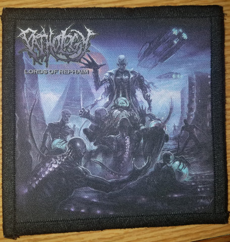 Pathology- Lords Of Rephaim Printed PATCH