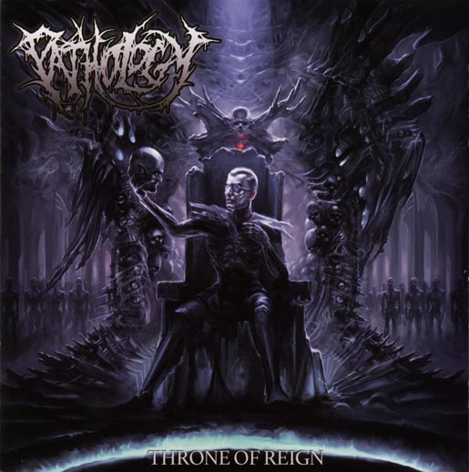 Pathology- Throne Of Reign CD w/ slipcase on Comatose Music