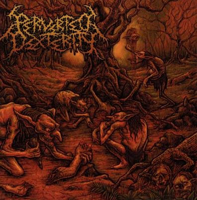 Perverted Dexterity- Primitive Scene Of Inhumanity CD on Brutal Mind