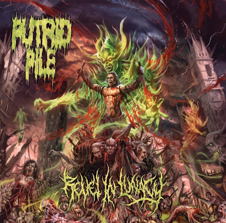PUTRID PILE- Revel In Lunacy CD on Sevared Records OUT NOW!!!