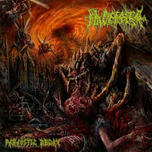 Placenta Powerfist- Parasitic Decay CD on Rising Nemesis
