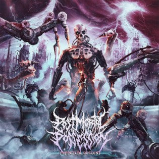 Post Mortal Possession- Perpetual Descent CD on Lord Of The Sick
