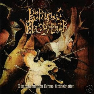Posthumous Blasphemer- Putrespermfaction Versus Fertiholyzation CD on Sound Age