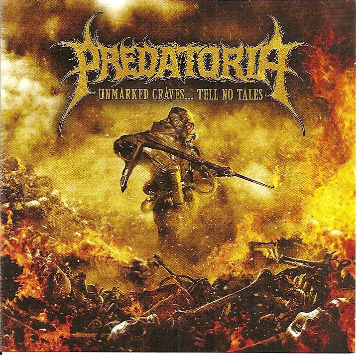 Predatoria- Unmarked Graves... Tell No Tales CD Self Released