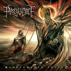 Prejudice- Megalomanic Infest CD on Soulflesh Collector