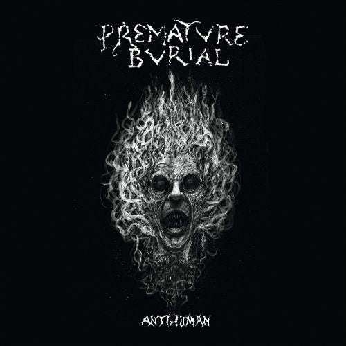 Premature Burial- Antihuman CD on Self Made God