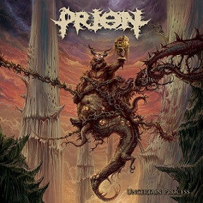 Prion- Uncertain Process CD / DVD on Comatose Music
