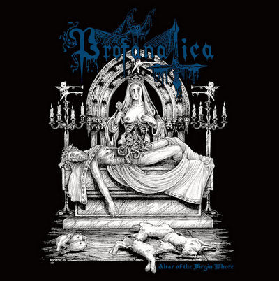 Profanatica- Altar Of The Virgin Whore CD on Hells Headbangers