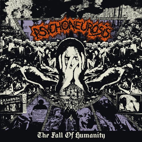Psychoneurosis- The Fall Of Humanity CD on Self Made God