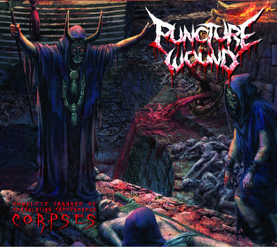 Puncture Wound- Complete Carnage Of Coagulating Cacophonous Corpses DIGI-CD on 1054 Rec.