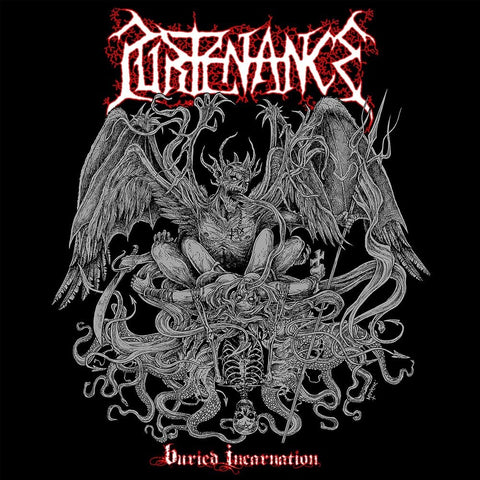 Purtenance- Buried Incarnation CD on Xtreem Music