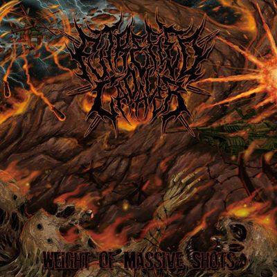 Putrefied Cadaver- Weight Of Massive Shots CD on Ghastly Music