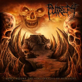 PUTREFY- Knelt Before The Sarcophagus Of Humanity CD on SEVARED RECORDS