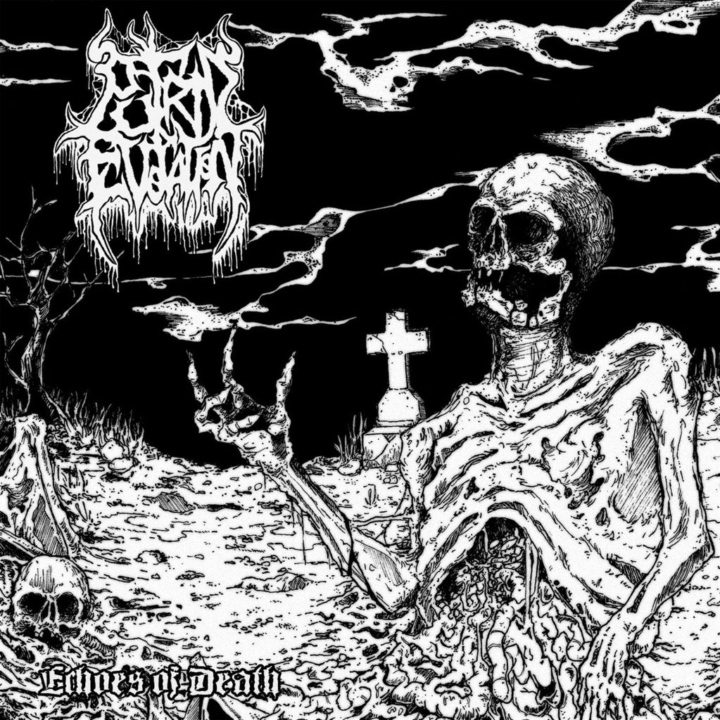 Putrid Evocation- Echoes Of Death CD on Xtreem Music