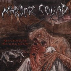 Murder Squad- Ravenous Murderous CD on Candlelight Rec.