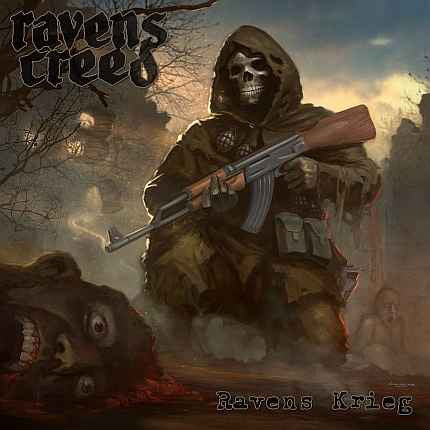 Ravens Creed- Ravens Krieg CD on Xtreem Music