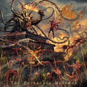 Raw- The Persecute Heinous CD on Brutal Mind