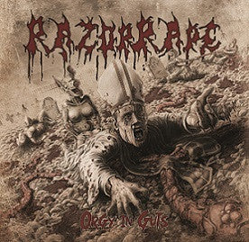 "Razorrape- Orgy Of Guts 12"" LP VINYL on Rotten Roll Rex"