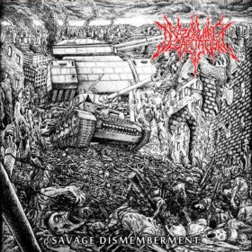 Razorwire Decapitation- Savage Dismemberment CD on Lost Apparitions Rec.