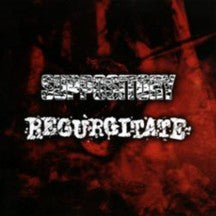Regurgitate / Suppository- Split CD on Power It Up Rec.