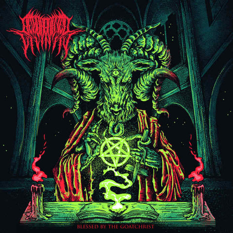 Regurgitated Divinity- Blessed By The Goatchrist CD on Death Penalty Rec.