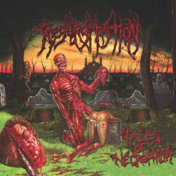 Regurgitation- Tales Of Necrophilia CD/DVD DIGI-BOOK on Hells Headbangers