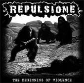 Repulsione- The Beginning of Vi*lence CD on Grind Block Rec.