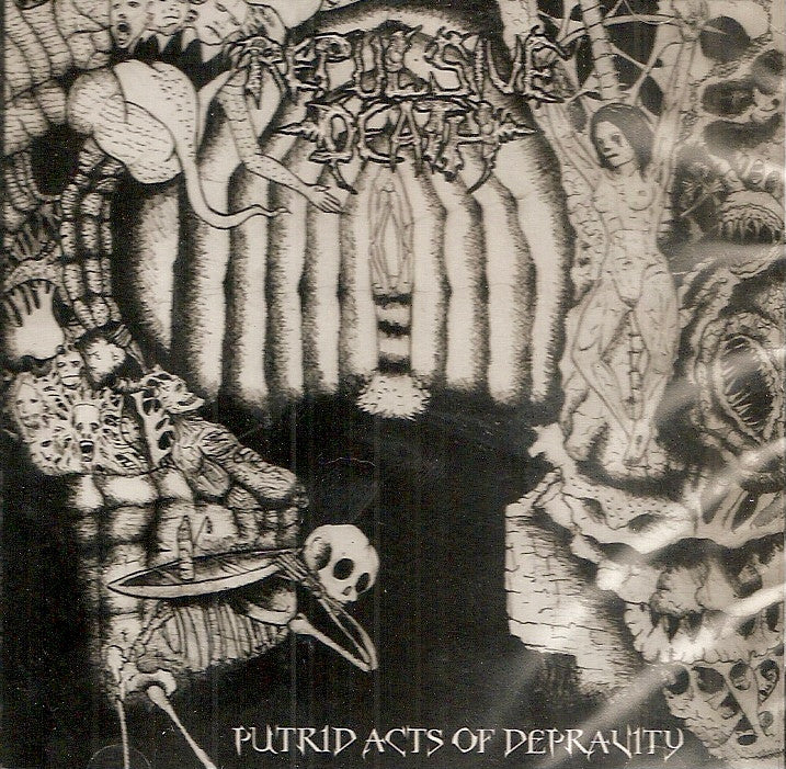 Repulsive Death- Putrid Acts Of Depravity CD on Psych Grind Rec.