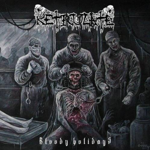 RETICULATE- Bloody Holidays CD on Sevared Rec.