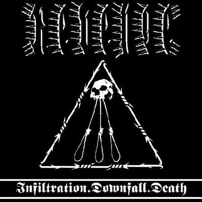 Revenge- Infiltration, Downfall, Death CD on Red Stream