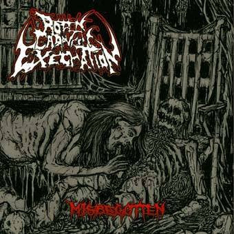 Rotten Cadaveric Execration- Misbegotten CD on Guttural Brutality Rec.
