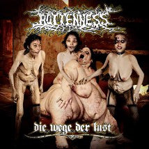 ROTTENNESS- Die Wege Der Lust CD on Sevared Records