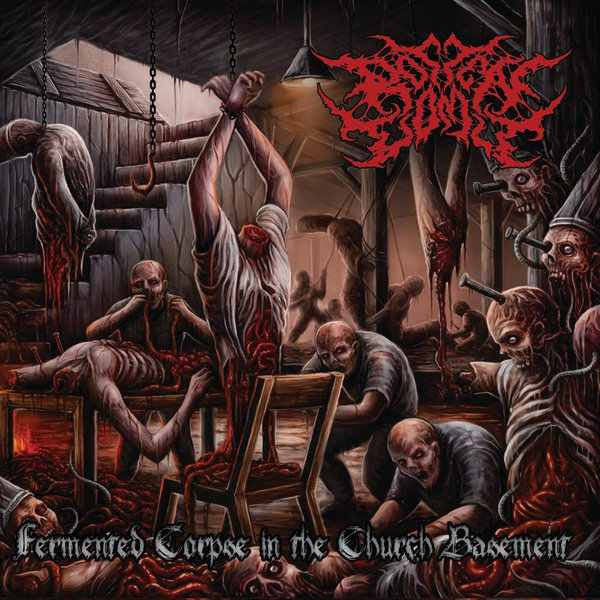 Rotten Vomit- Fermented Corpse In The Church Basement CD on Putrescence Rec.