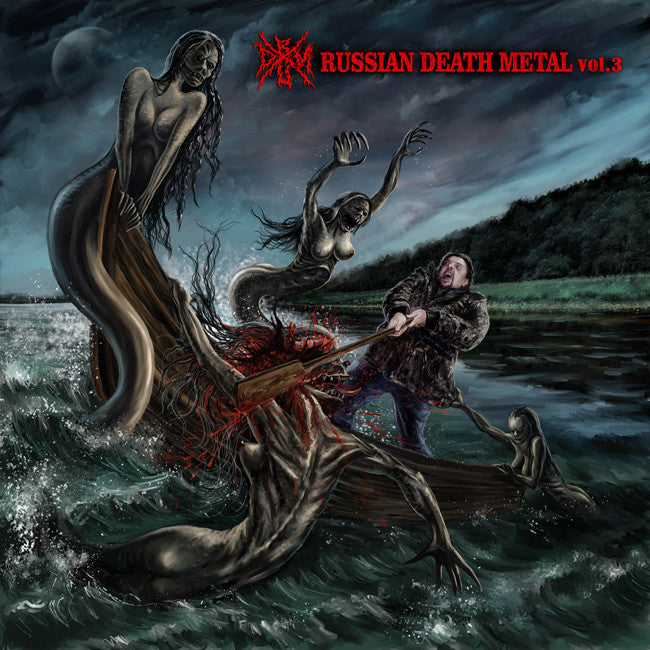 RUSSIAN DEATH METAL- Vol. 3 Comp. CD