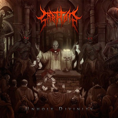 Sabaoth- Unholy Divinity CD on Dismembered Rec.