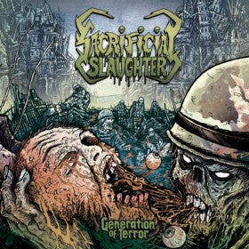 Sacrificial Slaughter- Generation Of Terror DIGI-CD on Horror Pain Gore Death