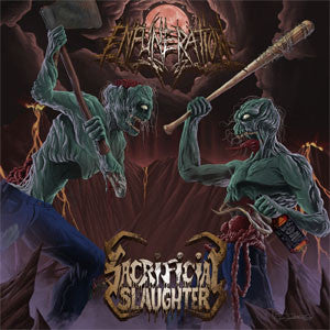 Sacrificial Slaughter / Enfuneration- Split CD on Horror Pain Go