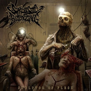 Sadistic Butchering- Sculptor Of Flesh CD on Inherited Suffering