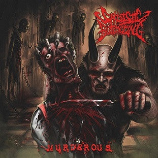 Sadistic Butchering- Murderous CD on Nice To Eat You Rec.