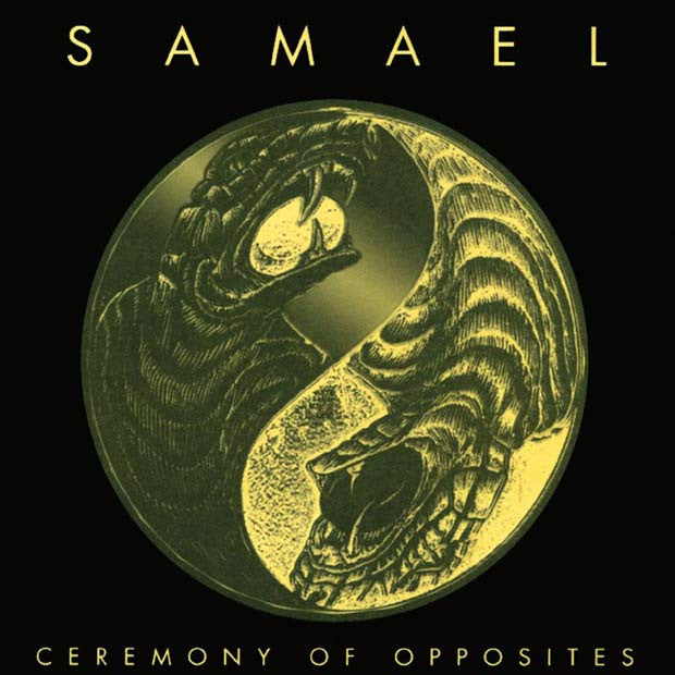 Samael- Ceremony Of Opposites & Rebellion CD on Morbid Tales Records