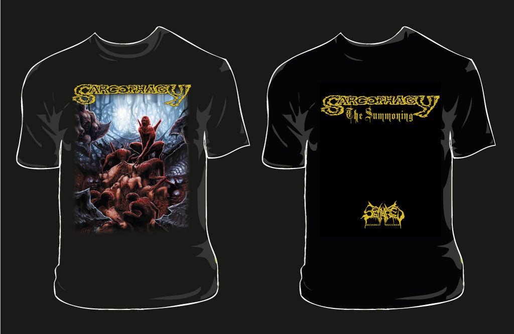 SARCOPHAGY- The Summoning T-SHIRT X-LARGE