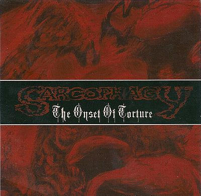 SARCOPHAGY- The Age Of Onset CD on Sevared Records