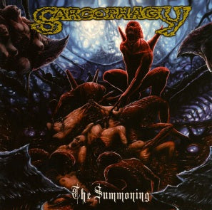 SARCOPHAGY- The Summoning CD on Sevared Rec.